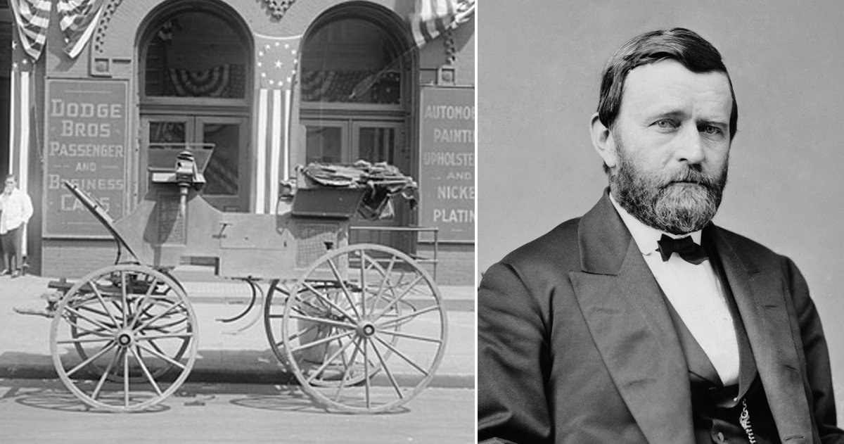 Bizarre Facts About U.S. Presidents That Sound Unbelievable But Are True _ Ulysses S. Grant _ godupdates