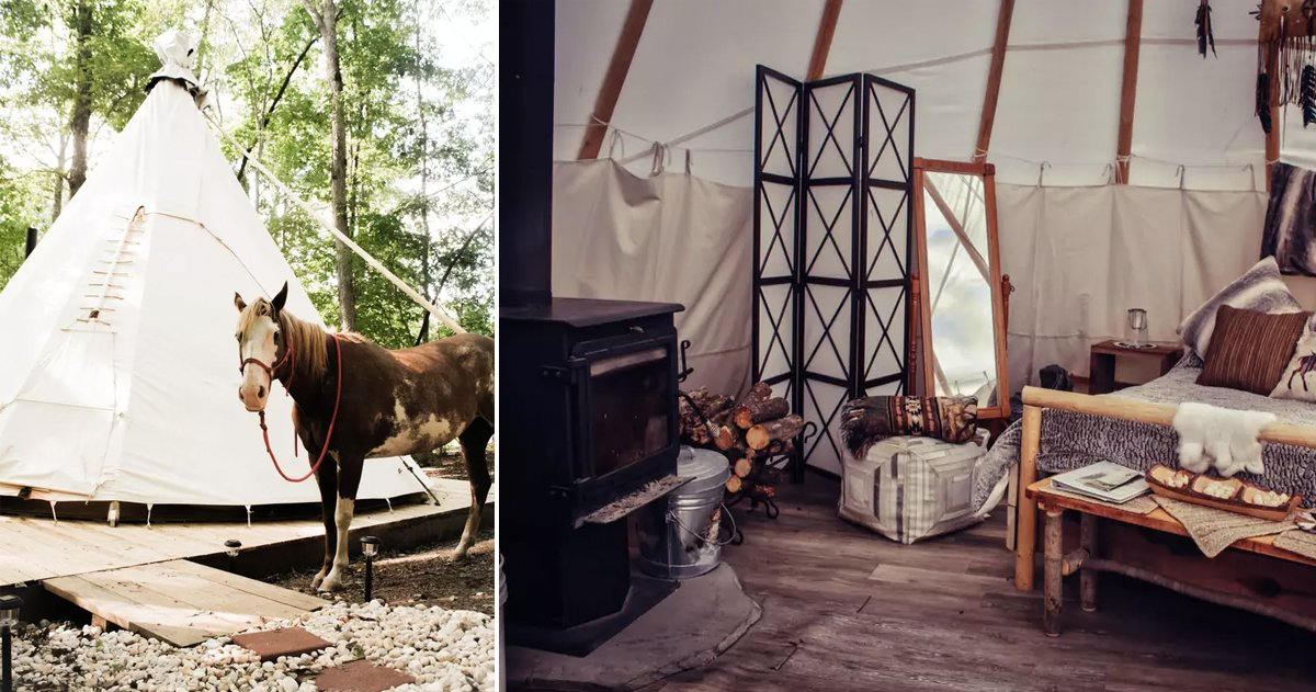 unusual airbnb homes next vacation _ airbnb _ Va Teepee _ allcreated