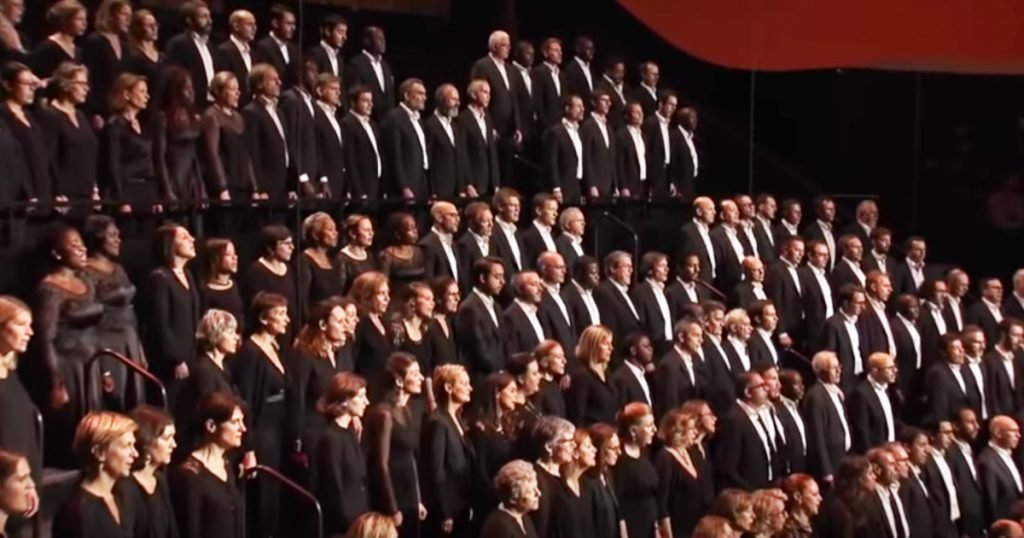 Giant Choir And Orchestra Perform Ancient Song 'Lamma Bada'