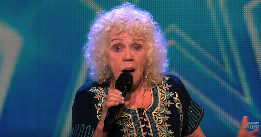 81-Year-Old Singer Auditions For Ireland's Got Talent With Send In The Clowns