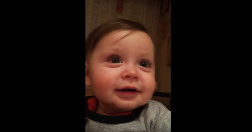 Baby Gets Emotional Hearing Elmo And Andrea Bocelli Singing Opera