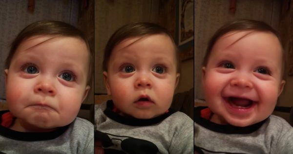 Baby Sweetly Moved By Opera Performance From Elmo