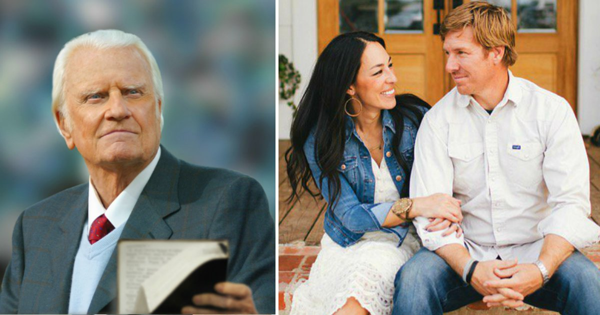 godupdates billy graham inspired chip and joanna gaines fb