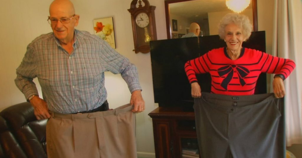 godupdates couple in their 70s have lost nearly 400 pounds together 1