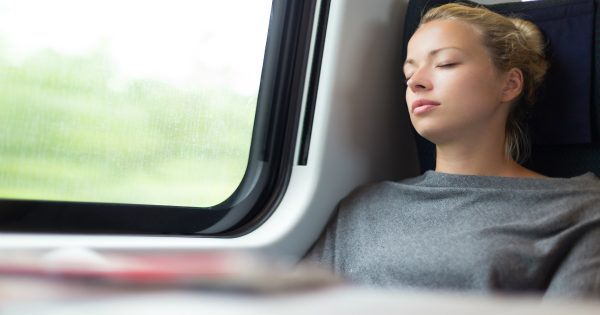 Woman Awoke On Train And Realized A Stranger Had Eavesdropped