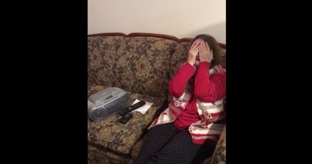Grandson Surprise Grandma By Recording Her Song 'Fishing In The Sky'