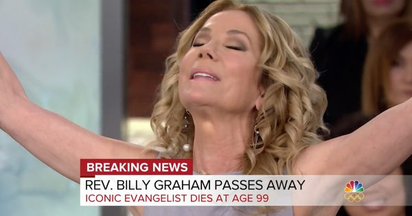 Kathie Lee Gifford Reacts To The Passing Of Evangelist Billy Graham