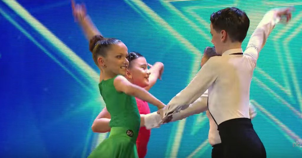 Kids' Ballroom Audition Gets Golden Buzzer on Ireland's Got Talent