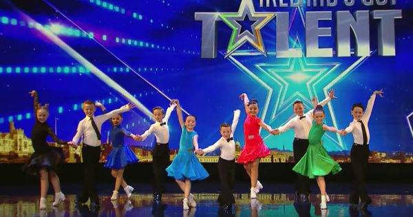 Tiny Irish Ballroom Dancers Earn The Golden Buzzer