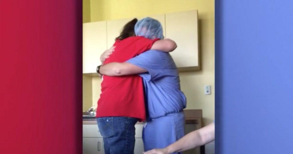 Marine Surprises Mom Fighting Cancer