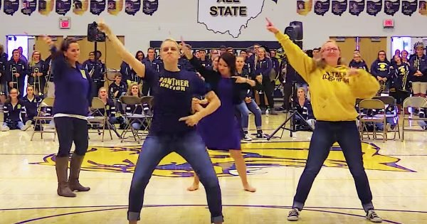 Pep Rally Flash Mob Surprise Is Too Fun To Miss