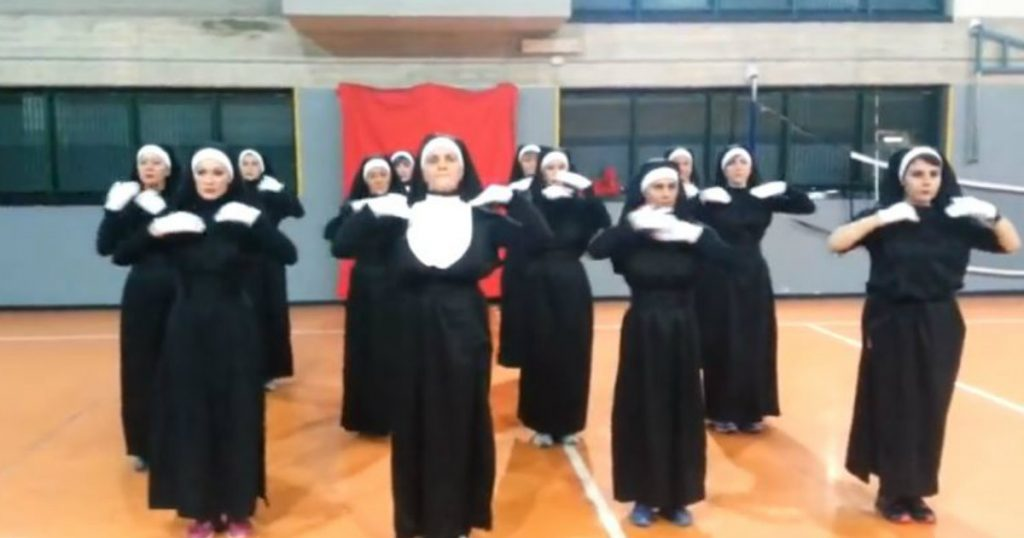 godupdates 12 nuns danced
