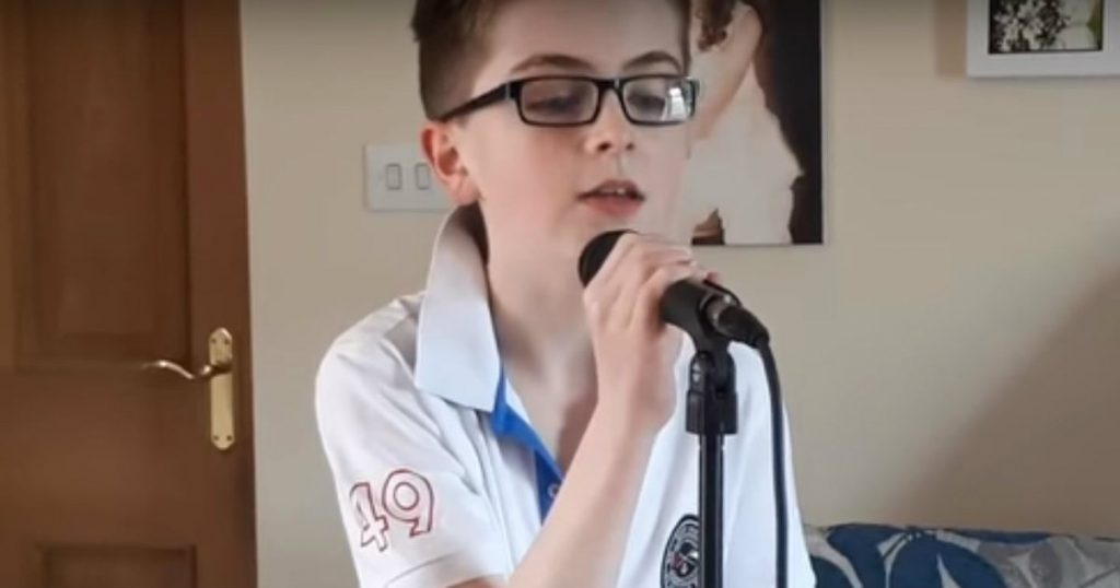 godupdates 14-year-old singer covers country song