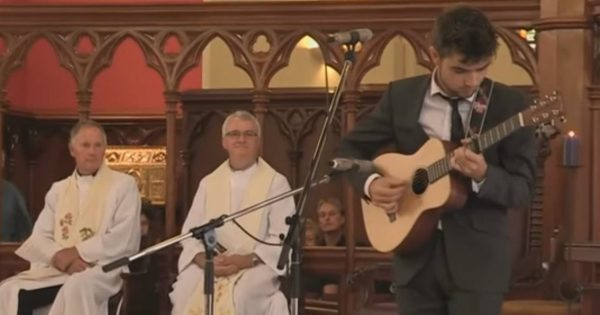His Uncle Passed Away, So He Gave A Lovely Tribute To Him Through Song