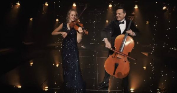 Husband And Wife Duet To 'Rewrite The Stars'