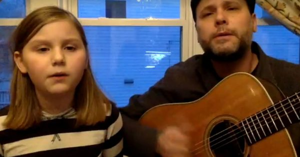 Father and Daughter Sing A Duet To Help Bring Awareness To Homelessness