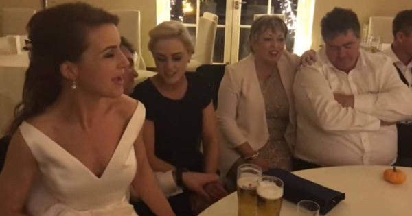 Family Sings Challenging Irish Song After Wedding Reception Ends