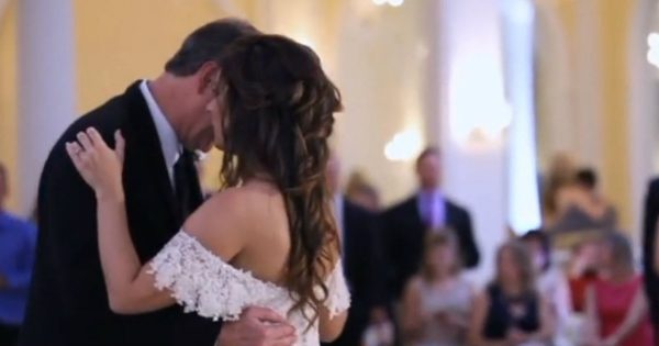 Bride Brings Her Dad To Tears With A Heartfelt Surprise