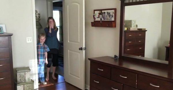 Husband Surprised His Wife And Renovated Their Bedroom When She Was Away