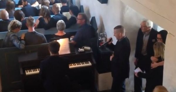 A Little Brother Sang A Song At His Brother's Funeral And It Was Beautiful