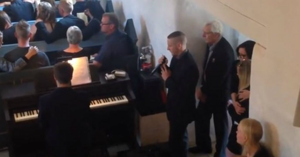 godupdates little brother sang at funeral