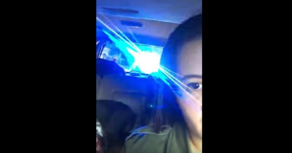 godupdates police officer pulled her over