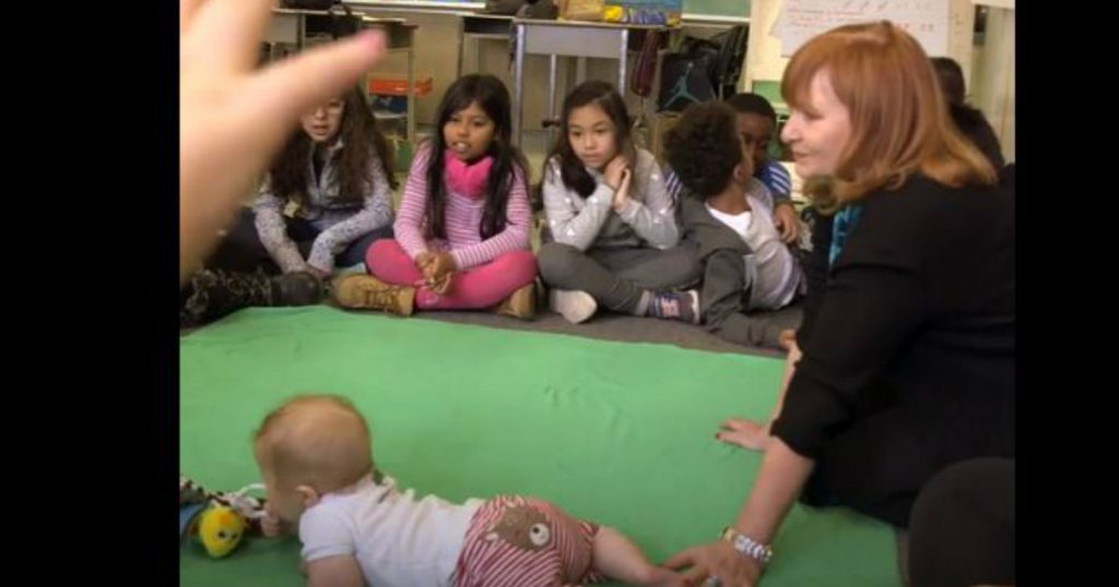 godupdates seven-month-old baby teaches students