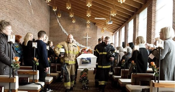 Man With Down-Syndrome Loved Firefighters, So 30 Show Up At His Funeral