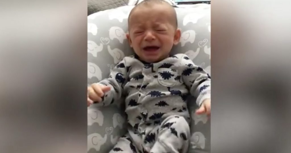 Baby Stops Crying With Mom's Dirty T-shirt
