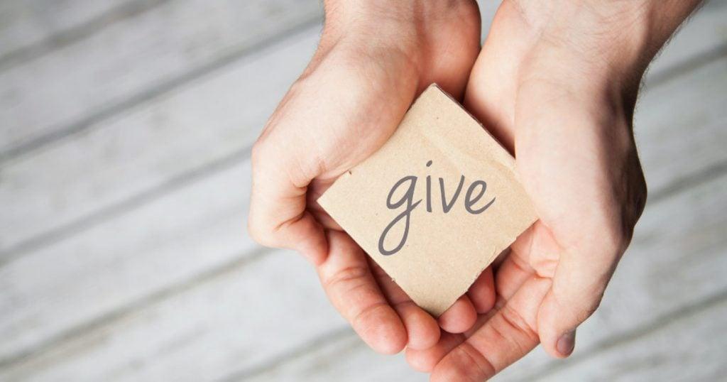 daily prayer generosity