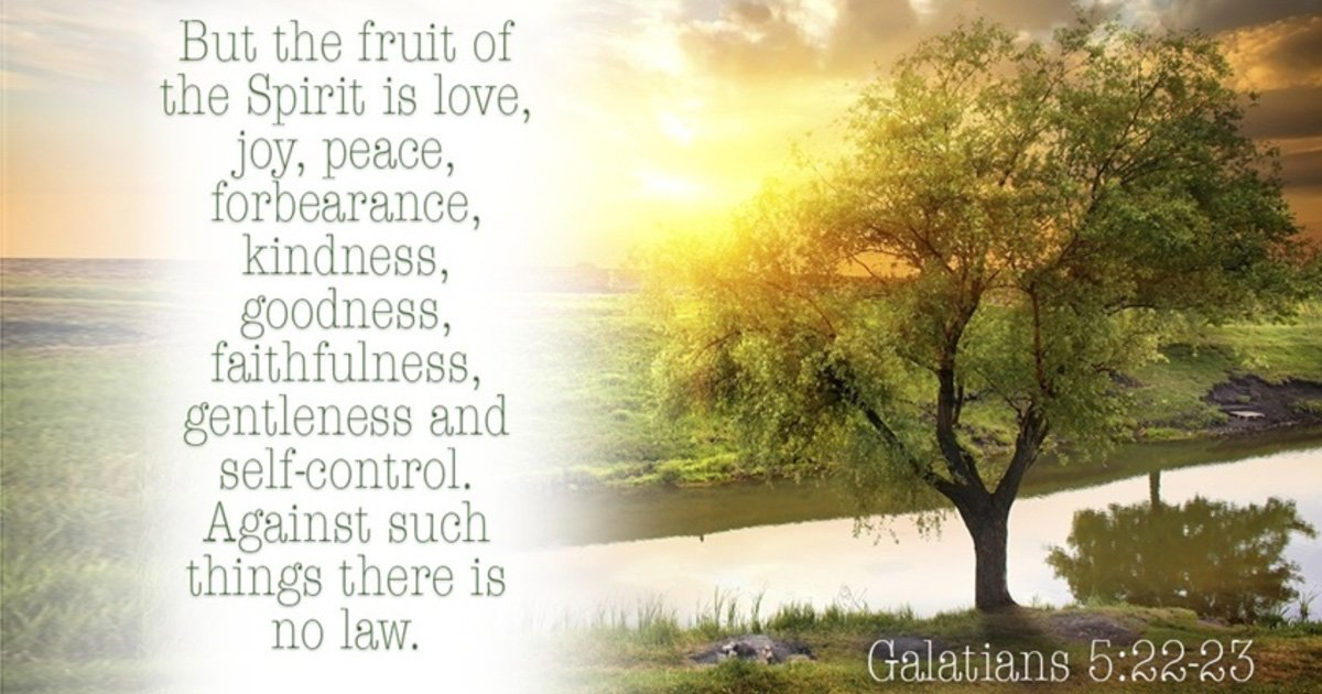 godupdates fruits of the spirit prayer