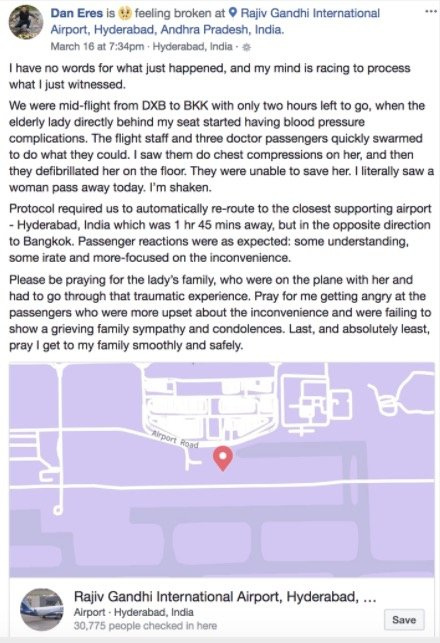 godupdates inspiring story of compassion on a plane when passenger died 2