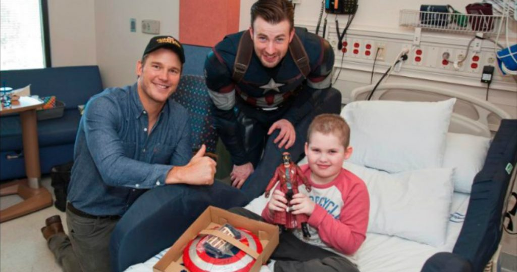 godupdates inspiring story of superhero stars granting dying boy's wish 1