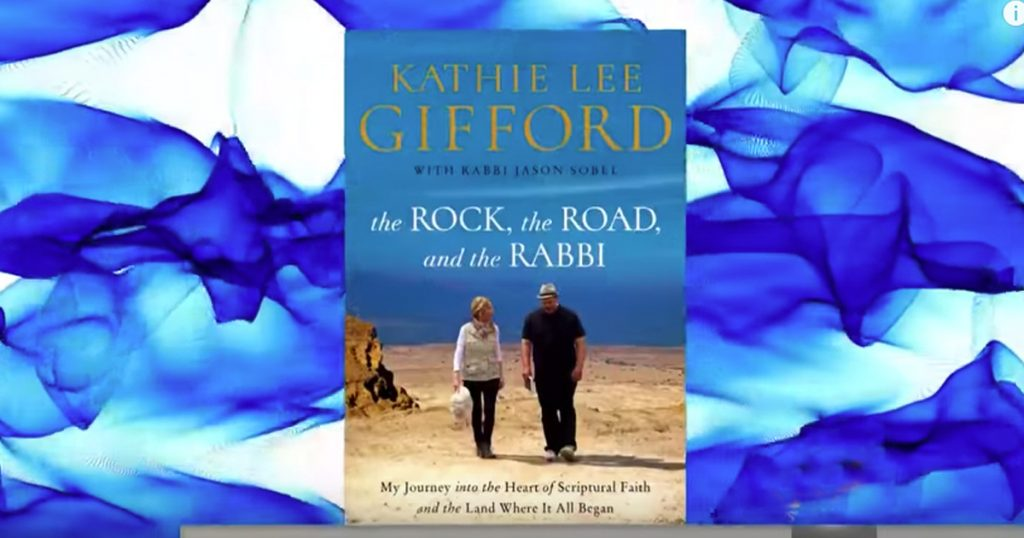 Kathie Lee Talks Her New Book The Rock The Road The Rabbi