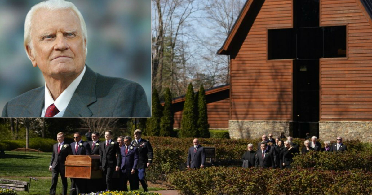notable moments from billy graham's funeral