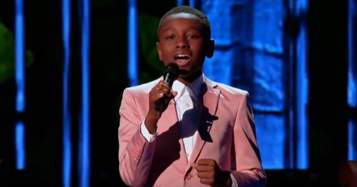 12-Year-Old Little Boy Singing Gospel Songs | Be Inspired!