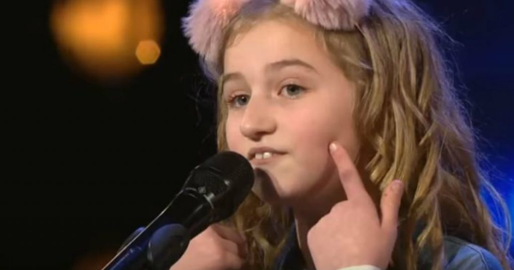 godupdates 9-year-old singer wows judges