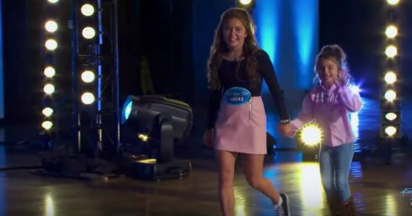 American Idol Contestant Auditions With Her Little Sister