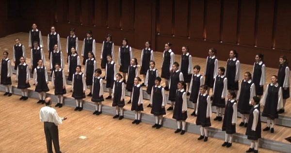 Children's Choir Sang A Song From A Classic Movie And They Sounded Heavenly