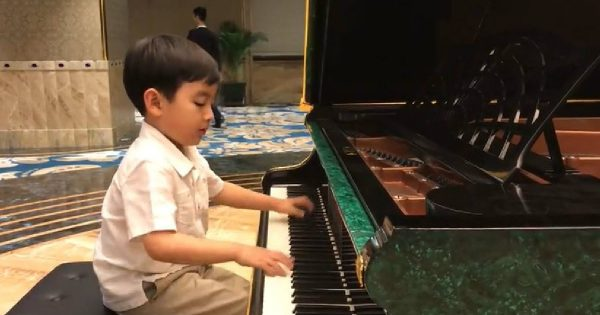 Young Pianist Wows The Crowd With A Remarkable Performance