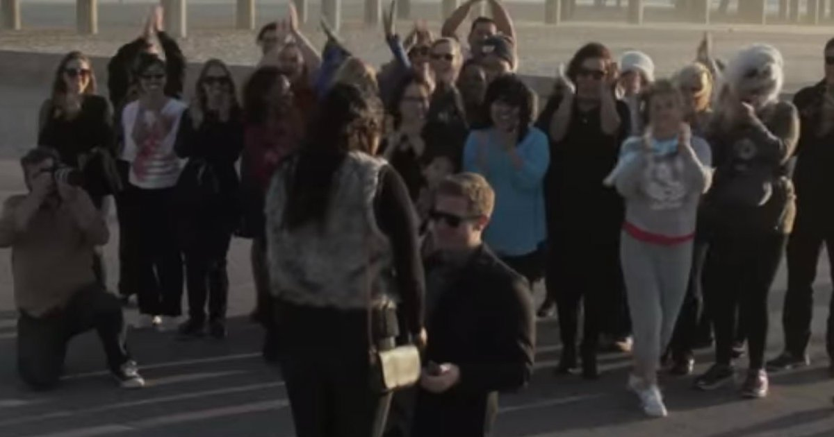 godupdates flash mob proposal