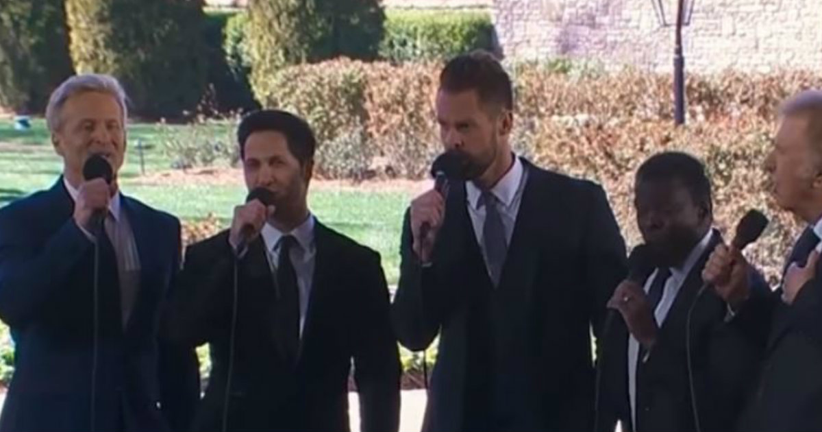 godupdates gaither vocal band sings at funeral