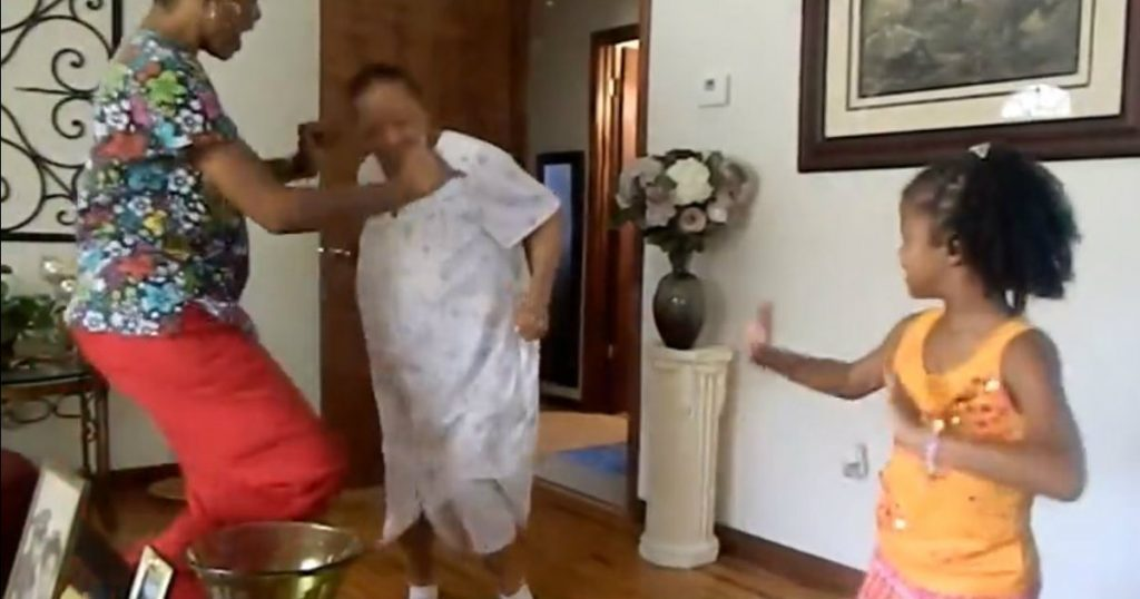 godupdates 94-year-old grandma dances with family