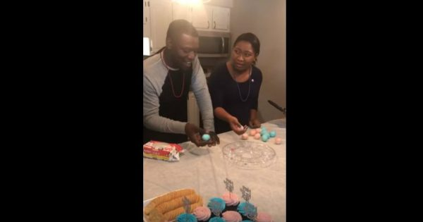 Couple Plays Exciting Hard-Boiled Egg Gender Reveal Game