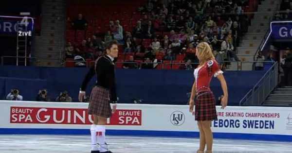 Brother And Sister Performed A Stellar Ice Dancing Routine