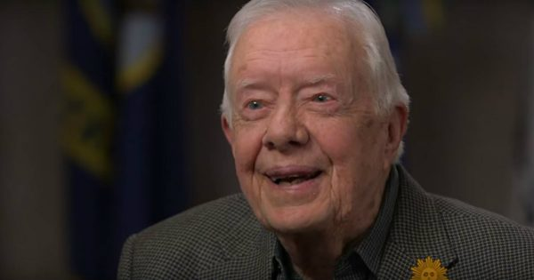Former President Jimmy Carter Talks About His Faith And His Life
