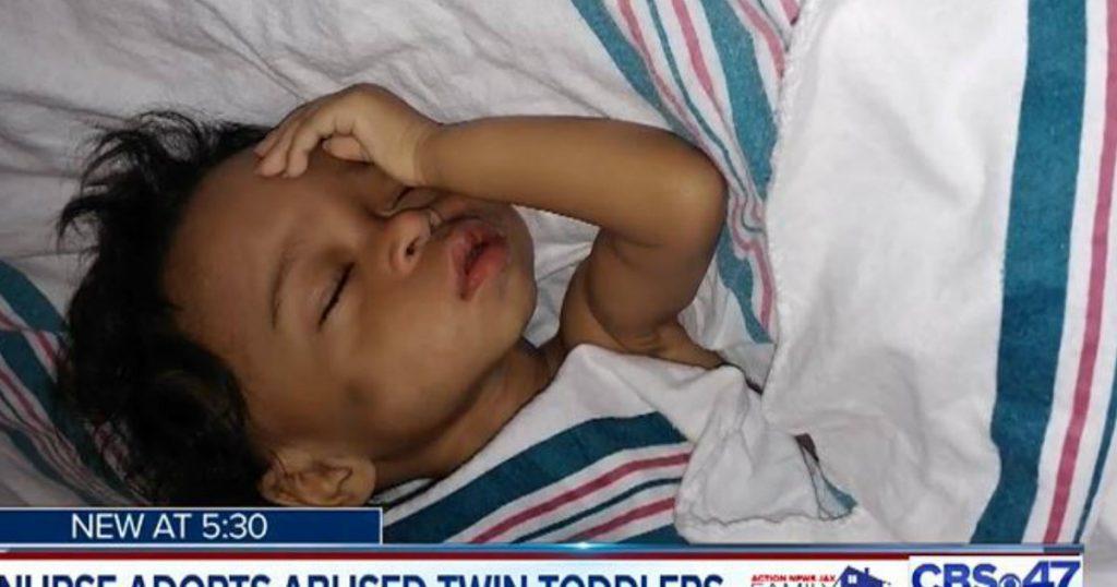 godupdates nurse adopted abused twin little girls