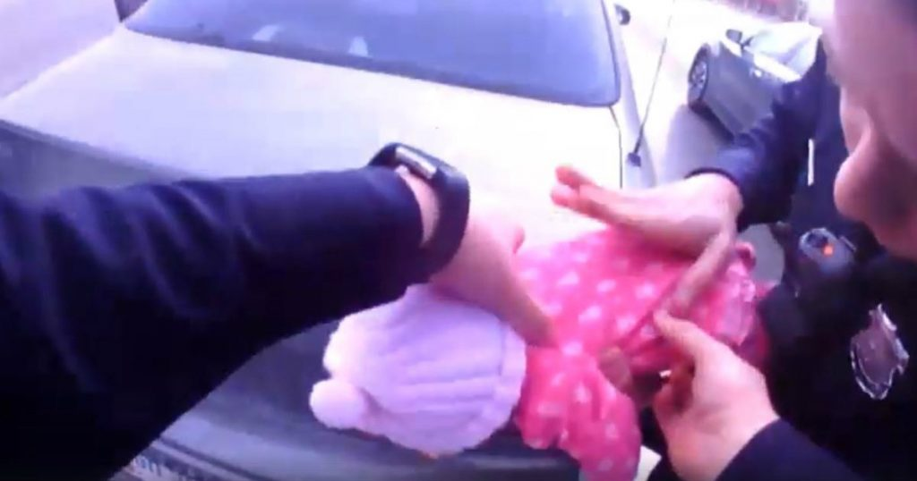 godupdates police saves choking baby girl