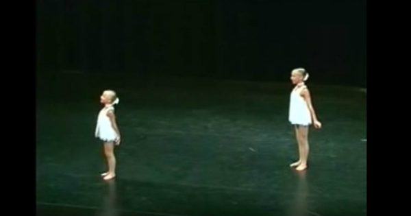Two Sisters Perform An Amazing Dance Routine