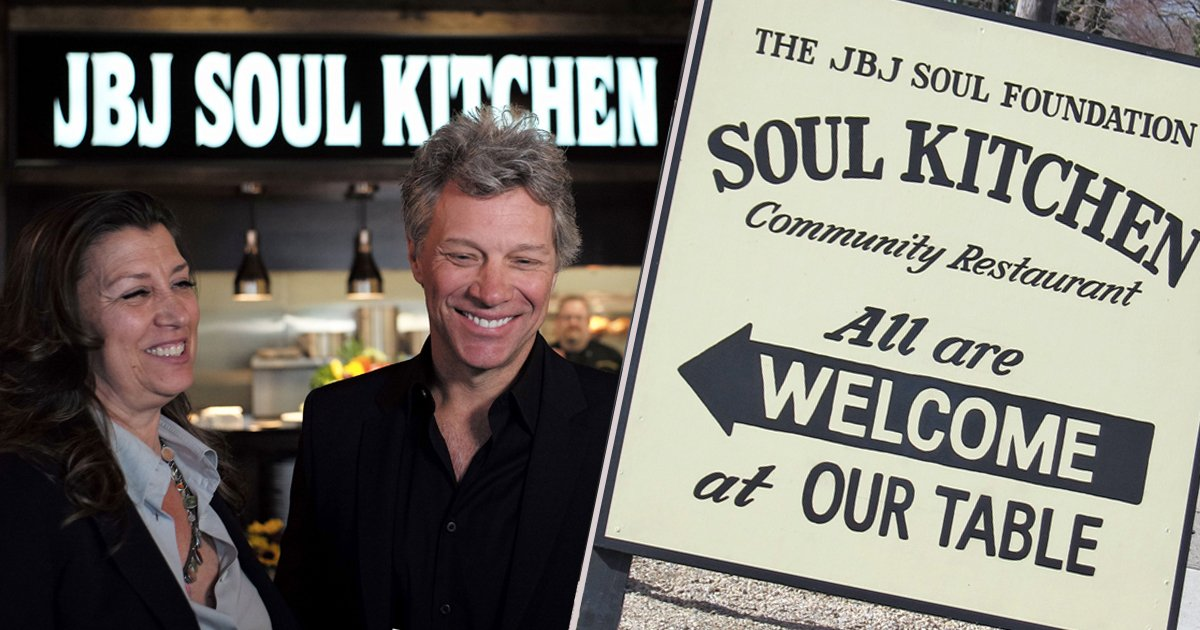 Celebrity Musician Opens 'Soul Kitchen' To Fight Community Hunger _ bon jovi _ godupdates